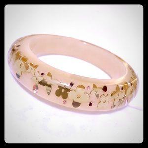 Authentic Louis Vuitton Flower Bracelet